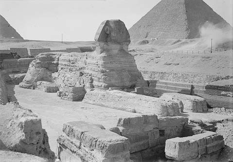 Redating the great sphinx of giza inside